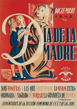 Cartel del Día de la Madre de 1945.
