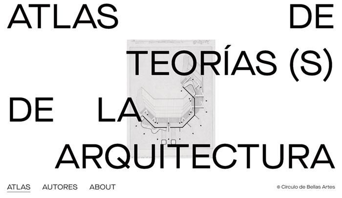 Dieciséis clics por la teoría de la arquitectura